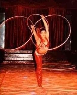 Jon Anton Presents...a selection of HULA HOOP PERFORMERS available for hire.