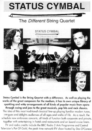 Jon Anton Presents...a selection of STRING QUARTETS.